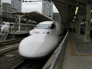 japan nozomi high speed train