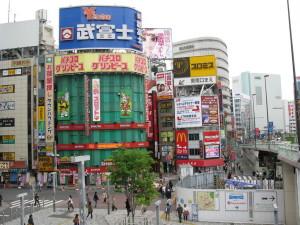 japan tokyo street advertising